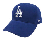 Los Angeles Dodgers Adjustable '47 Brand Youth Basic MVP Cap Hat Blue