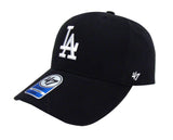 Los Angeles Dodgers Kids '47 Brand Basic MVP Adjustable Cap Hat Black