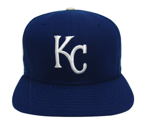 Kansas City Royals Snapback Youth Retro Vintage Logo Cap Hat Blue