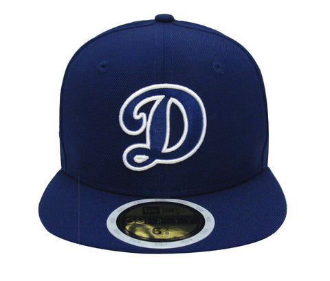 c0c45fff Los Angeles Dodgers Fitted Kids New Era 59FIFTY Blue D White Out Cap Hat  Blue