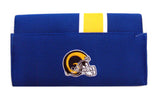 Los Angeles Rams Ladies Mesh Trifold Organizer Wallet