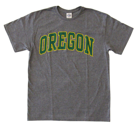 Oregon Ducks Men's Block T-Shirt Grey
