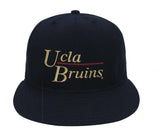 UCLA Bruins Snapback Retro Vintage Name Cap Hat Black