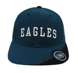 Philadelphia Eagles Snapback Retro Vintage Arch Cap Hat Green