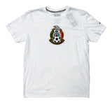 Mexico Men's Adidas Team Crest T-Shirt White