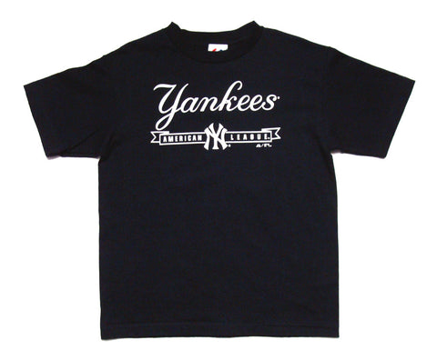 New York Yankees Youth American League T-Shirt Navy