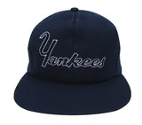 New York Yankees Snapback Retro Vintage Word Trucker Cap Hat Navy