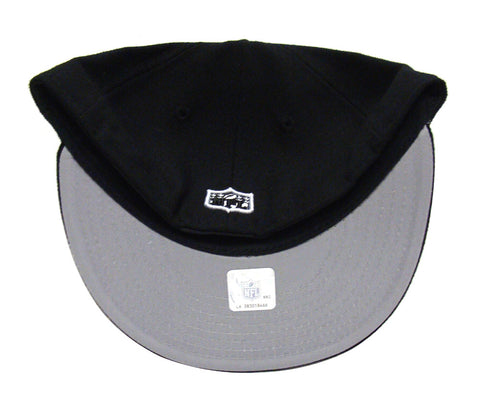 los angeles 1a896 d3075 San Francisco 49ers Fitted New Era 59Fifty League Basic Cap Hat Black