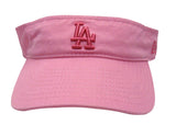Los Angeles Dodgers Adjustable New Era Womens Visor Cap Hat Pink