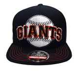 San Francisco Giants Snapback American Needle Mammoth Cap Hat Black