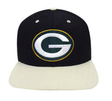 Green Bay Packers Snapback Vintage Logo Cap Hat Black Beige