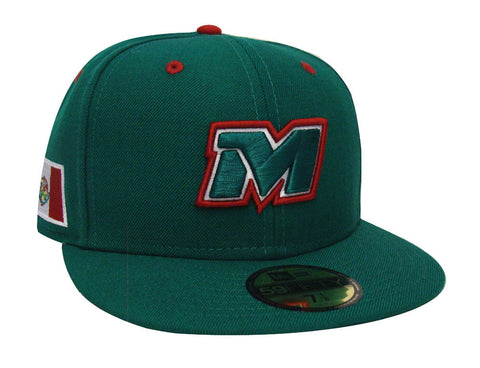 Mexico Fitted New Era 59Fifty 2017 Serie Del Caribe Cap Hat Green