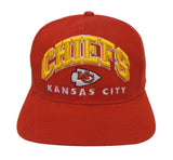 Kansas City Chiefs Snapback Retro Vintage Arch Cap Hat Red