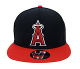 Anaheim Angels Snapback New Era Logo Cap Hat Black Red