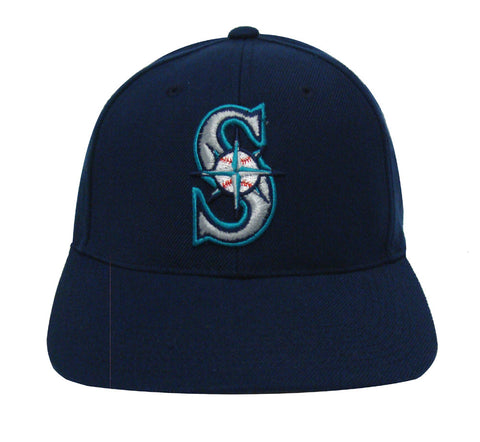 Seattle Mariners Snapback Retro Vintage Logo Cap Hat Navy
