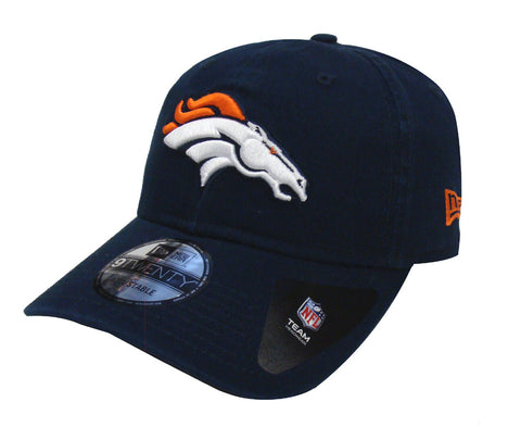 Denver Broncos Strapback New Era Core Class Adjustable Cap Hat Navy