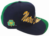 Notre Dame Fighting Irish Snapback Vintage Logo 7 Cap Hat Split