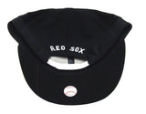 Boston Red Sox Snapback New Era White Logo & Snaps Cap Hat Black