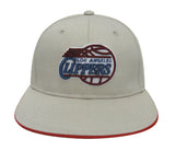 Los Angeles Clippers Snapback Retro Vintage Logo Cap Hat Beige