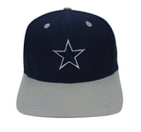 Dallas Cowboys Snapback Retro Vintage Logo Cap Hat Navy Grey