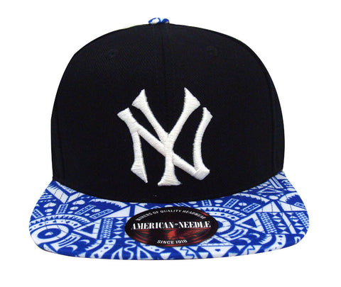 New York Yankees Snapback Style Strapback American Needle Forefront Hat Navy