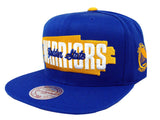 Golden State Warriors Snapback Mitchell & Ness Winning Streak Hat Cap Blue