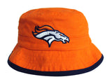 Denver Broncos Bucket Kids (4-7) Logo Hat Orange Navy