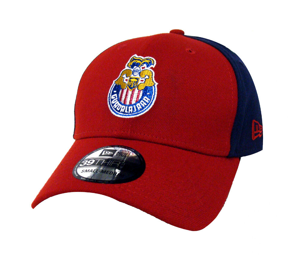 84385c3e3f300 Chivas de Guadalajara Fitted New Era 39Thirty Retro Logo Cap Hat Navy – THE  4TH QUARTER