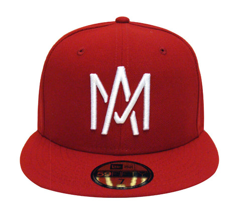 Aguilas de Mexicali Fitted Mexican Pacific Baseball League New Era 59Fifty Red