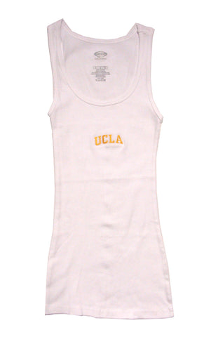UCLA Bruins Women's Ladies T-Shirt Tank White