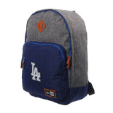 Los Angeles Dodgers Backpack New Era Heather Action Cram Pack Grey Blue