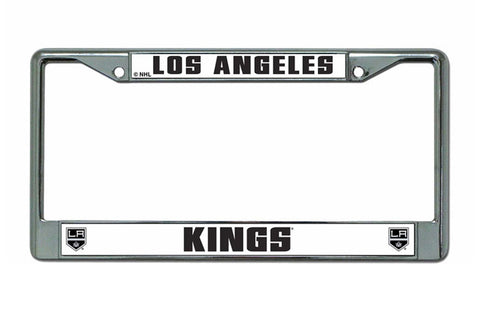 Los Angeles Kings Chrome License Plate Frame