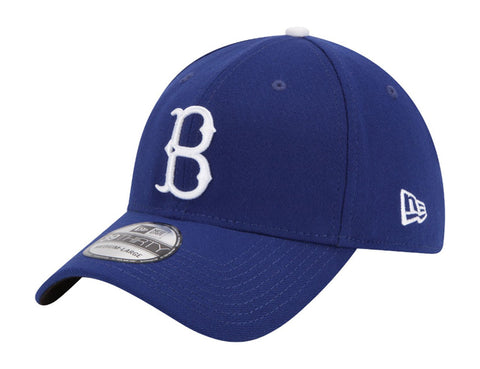 Brooklyn Dodgers Flex Fit New Era 39Thirty Team Classic Cap Hat Blue