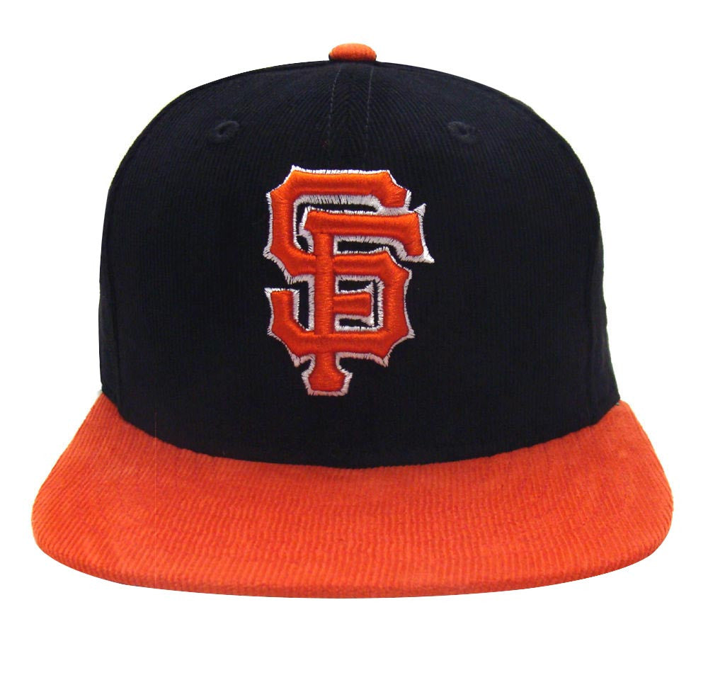 reputable site c3ec0 c0fea ... closeout san francisco giants new era cord classic snapback cap hat  black orange a6856 5ec15