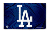 Los Angeles Dodgers Bar Home Decor Flag Logo 3' X 5'
