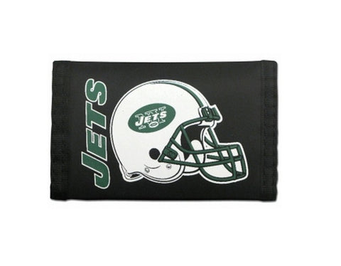 New York Jets Nylon Trifold Wallet