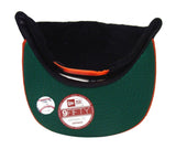 San Francisco Giants New Era Cord Classic Snapback Cap Hat Black Orange