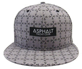 Asphalt Yacht Club Snapback New Era Origin Grey Cap Hat