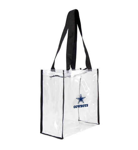 Dallas Cowboys Clear Square Stadium Tote Bag