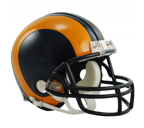 Los Angeles Rams 1981-1999 Throwback Replica Mini Helmet