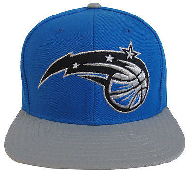 Orlando Magic Snapback Adidas Star Retro Cap Hat Blue Grey
