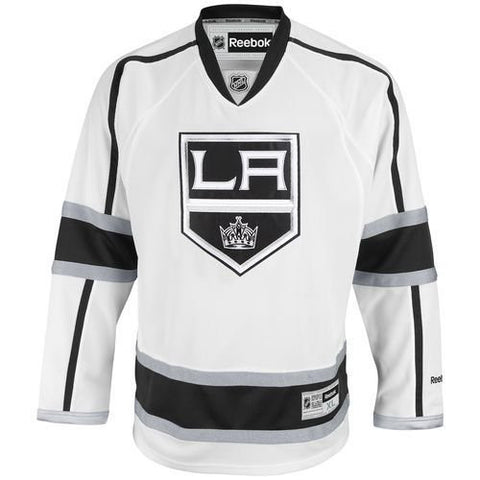 Los Angeles Kings Mens Reebok Premier Away Jersey White