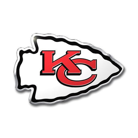 Kansas City Chiefs Color Auto Emblem