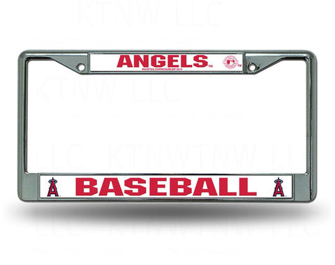 Anaheim Angels Chrome License Plate Frame