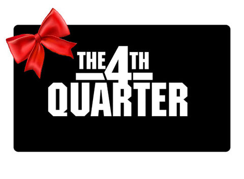 THE 4TH QUARTER Gift Card