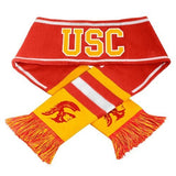 USC Trojans NCAA Team Colors Knit Scarf