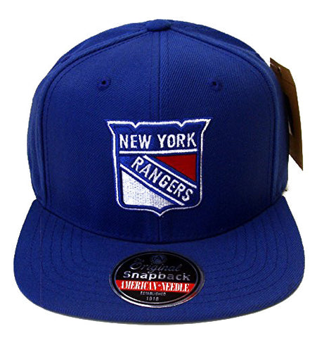 New York Rangers Snapback American Needle Retro Replica Wool Cap Hat