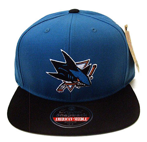 San Jose Sharks Snapback American Needle Retro Replica Wool Cap Hat
