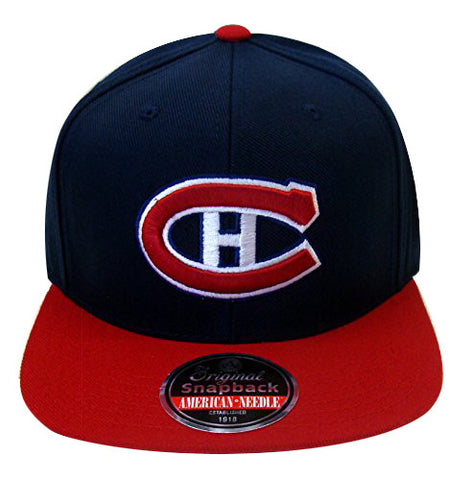 Montreal Canadiens Snapback American Needle Retro Replica Wool Cap Hat