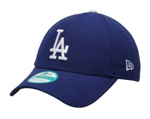 Los Angeles Dodgers Velcro Adjustable New Era 9Forty The League Cap Hat Blue